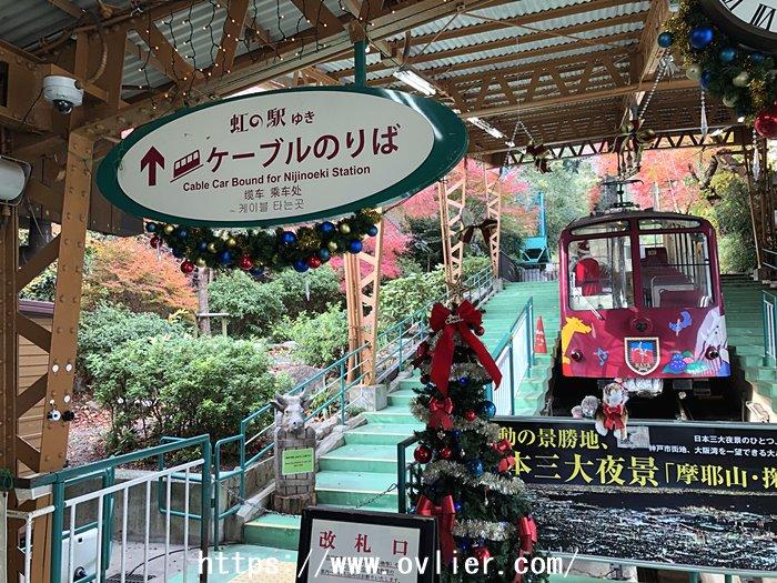 摩耶山ケーブル 虹の駅