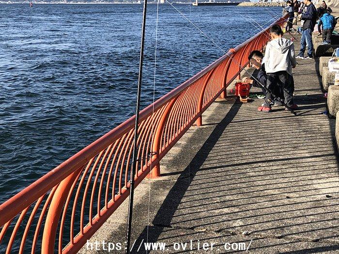 平磯海釣り公園 安全柵