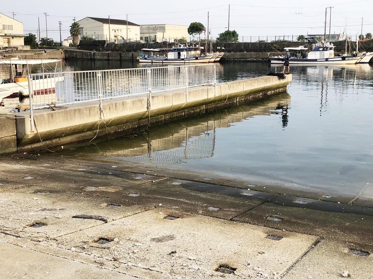 垂水漁港エギング 釣り場